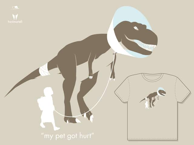 my pet got hurt by frankmartelli on Threadless