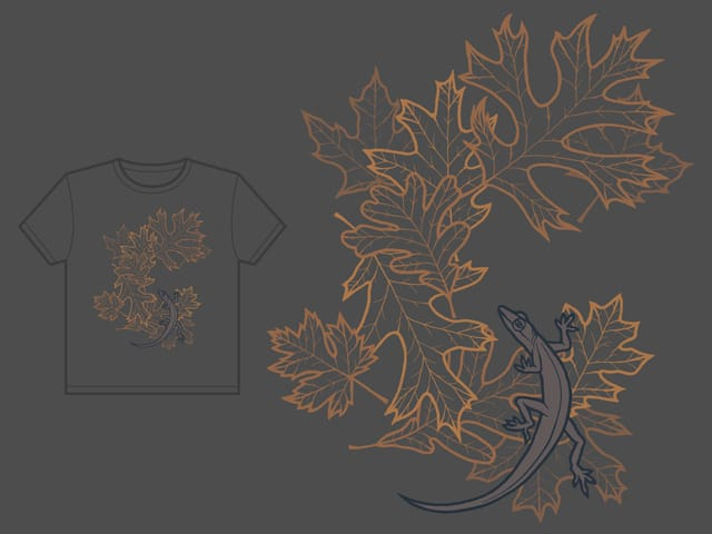 Leaf Peeper by loglow on Threadless