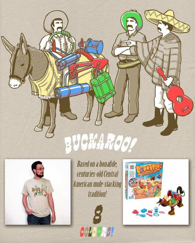 Buckaroo! by aled on Threadless