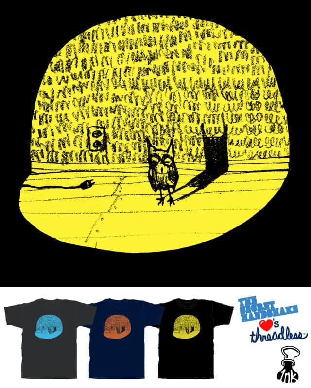 The Midnight Visitor by Robsoul on Threadless