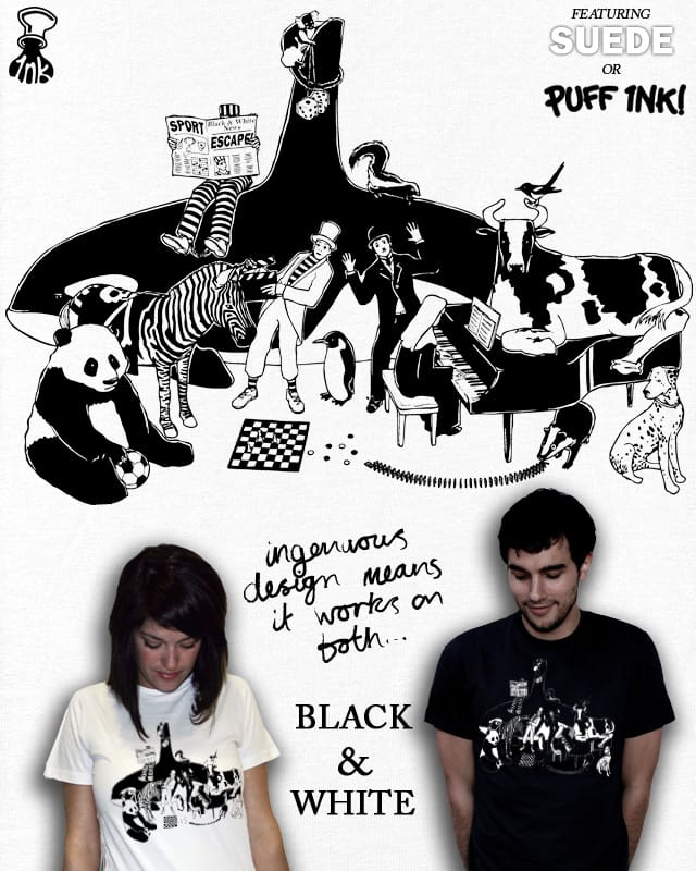 Not Everything Is Black And White by aled on Threadless