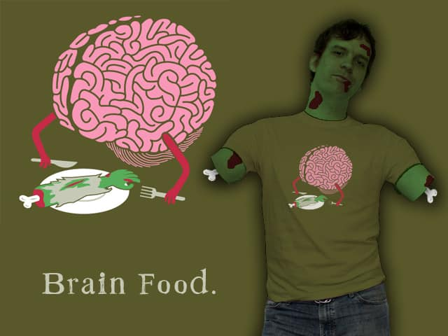 Brain Food by mj00 on Threadless