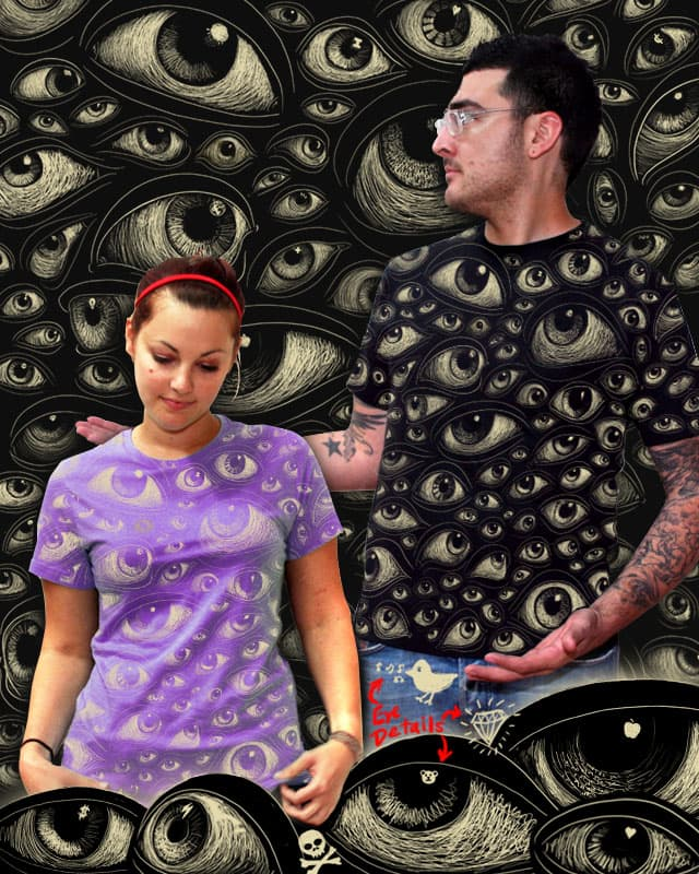 All Eyes on U by kennybanzai on Threadless