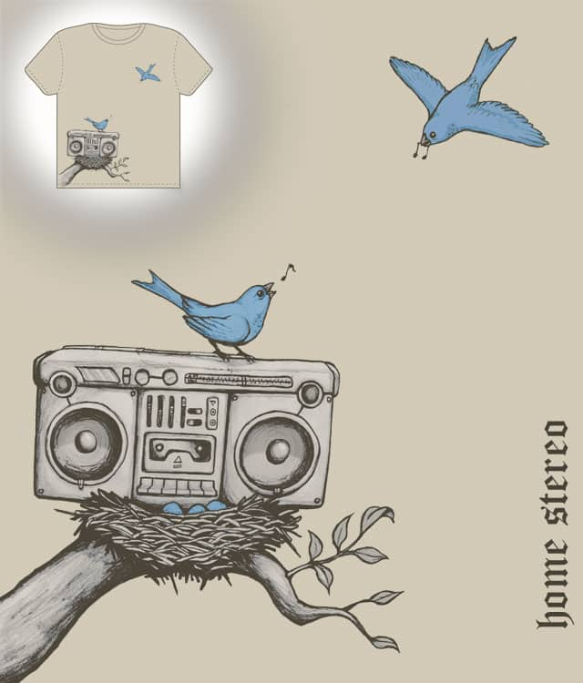 home-stereo by Jesse Mack on Threadless