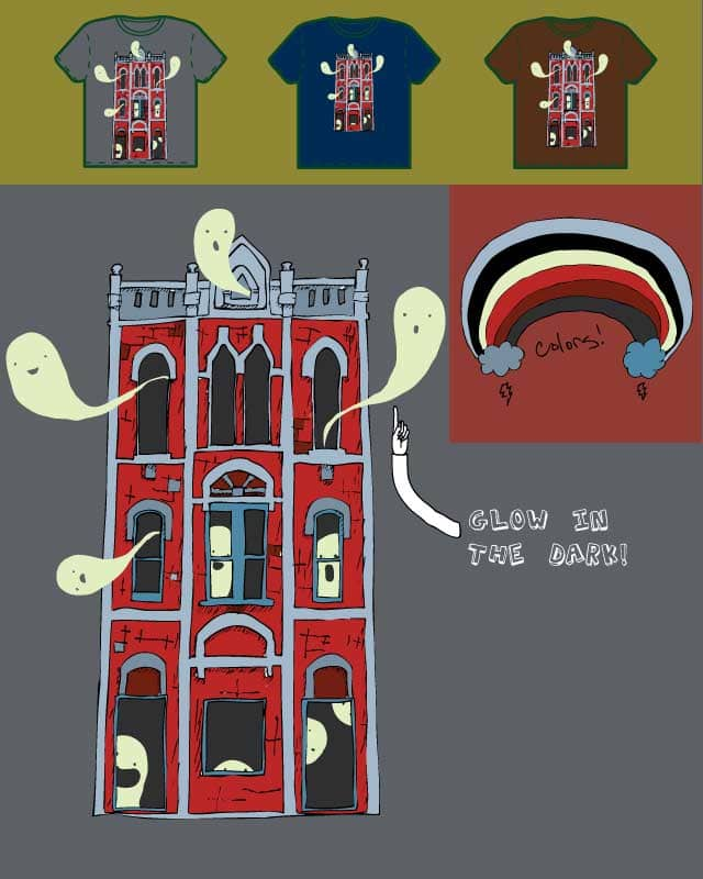Haunted House by Elbows on Threadless