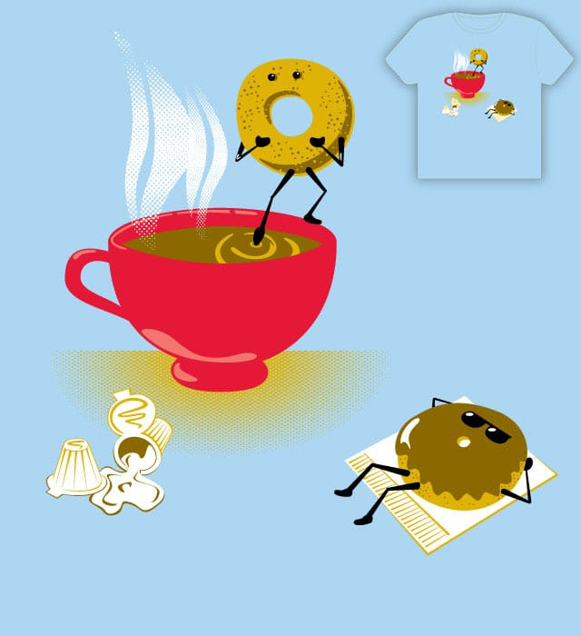 Dippin' Donut by emseearr on Threadless