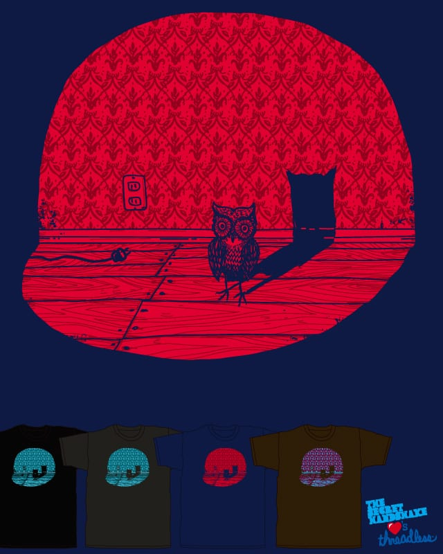 Midnight Visitor by Robsoul on Threadless