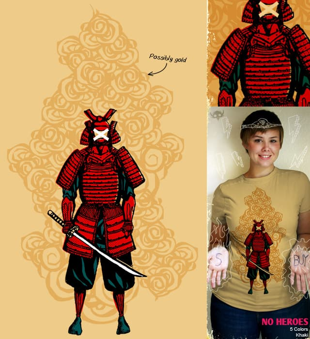 No Heroes by TerryMakesStuff on Threadless