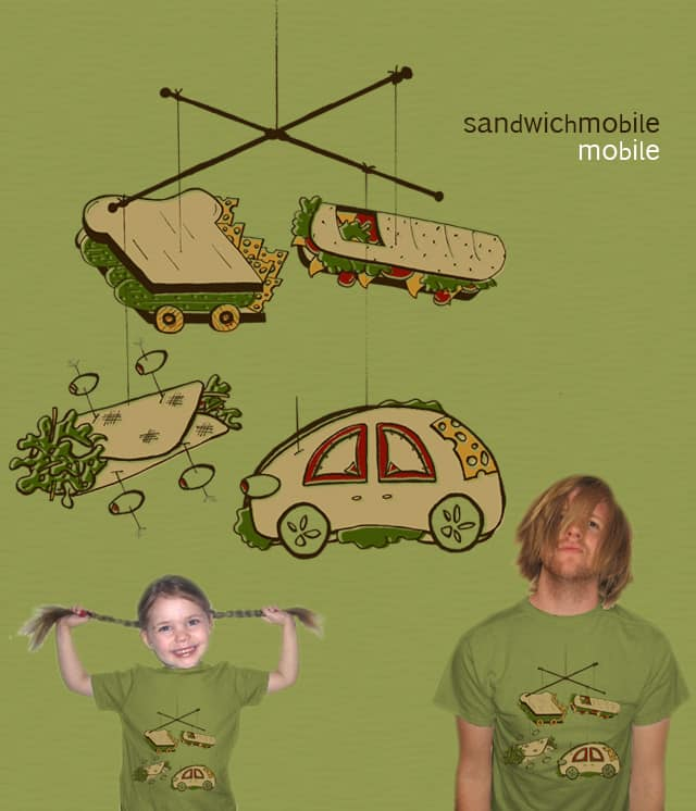 Sandwichmobile mobile by telaine on Threadless