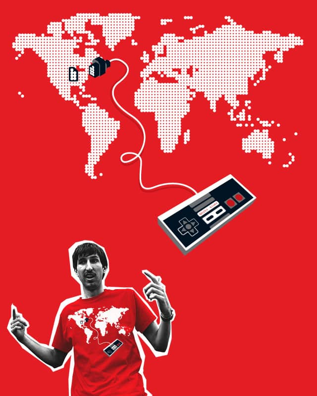 Control the World by fourcolourblack on Threadless