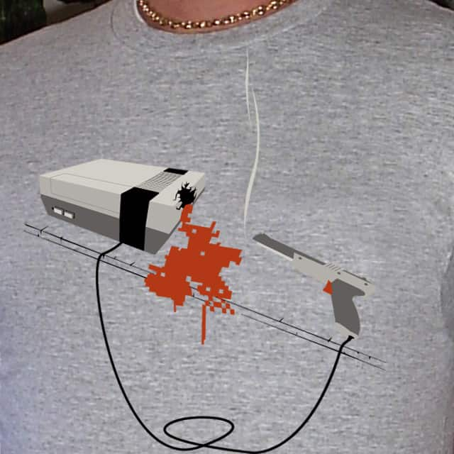it bleeds pixels by jalidd on Threadless