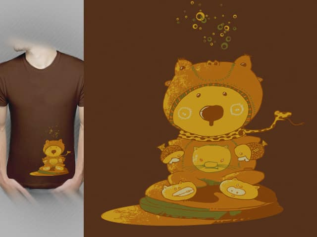 Cuddly Toy by kako64 on Threadless