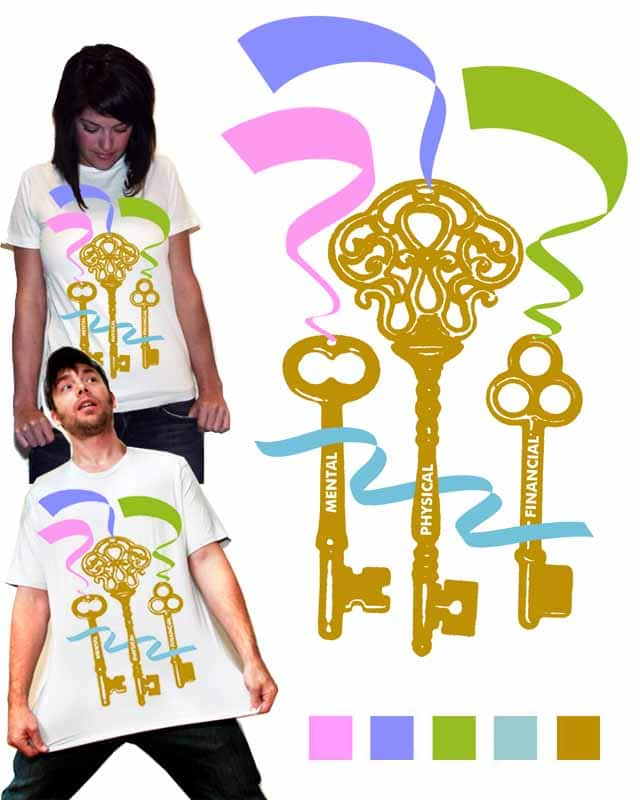 The Keys to Life by ericadkison on Threadless