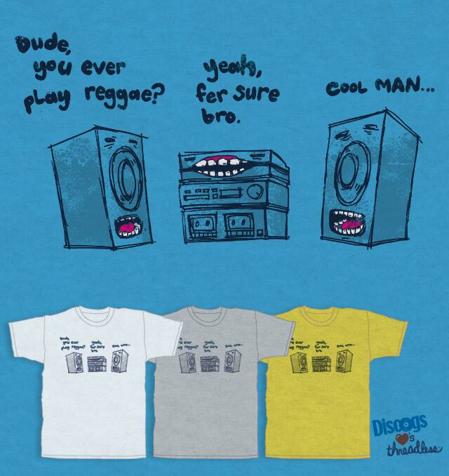 Sound  System by Robsoul on Threadless