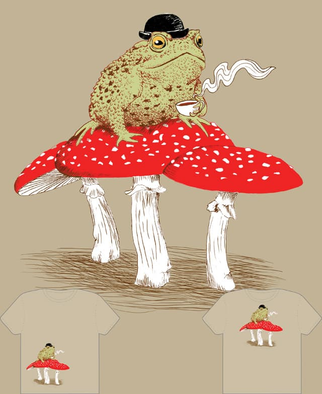 Toad Stool by jillustration on Threadless