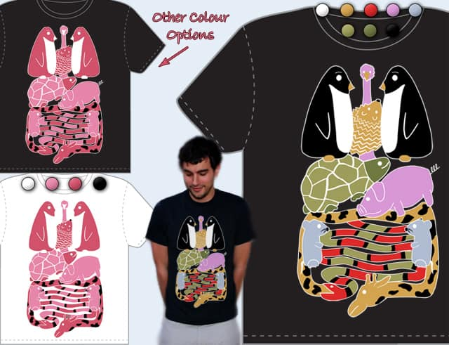 Animal Indigestion by DreamAboutCake on Threadless