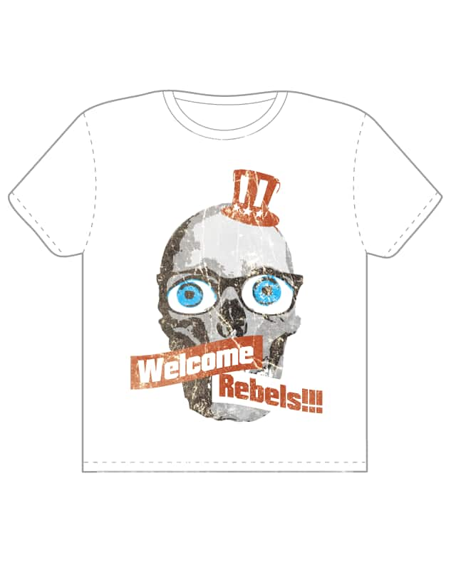 Welcome Rebels by Ryder on Threadless