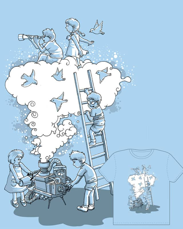 the cloud manufacturer by hugotunes on Threadless