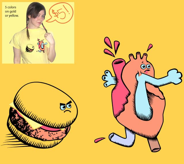 Running is good for the heart. by J-Ray on Threadless
