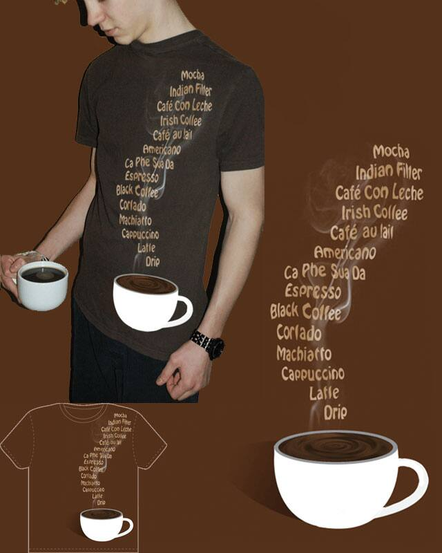 Caffeinated Choice by Kott on Threadless