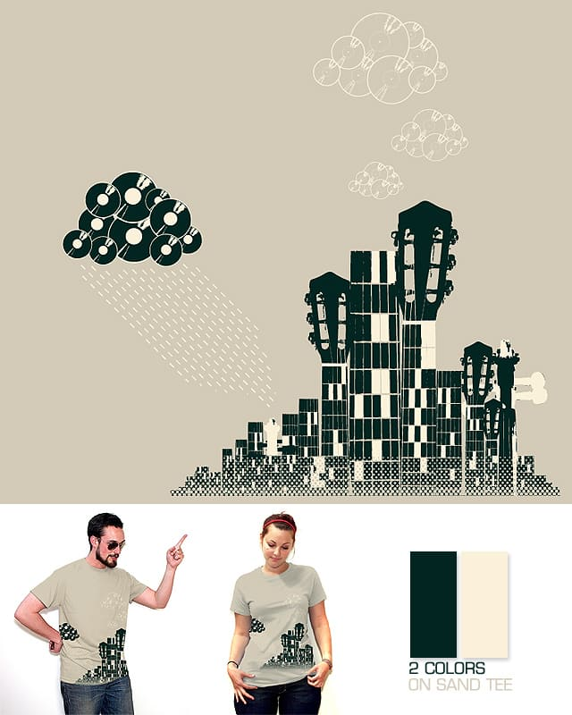 Sound Storm by zorack on Threadless