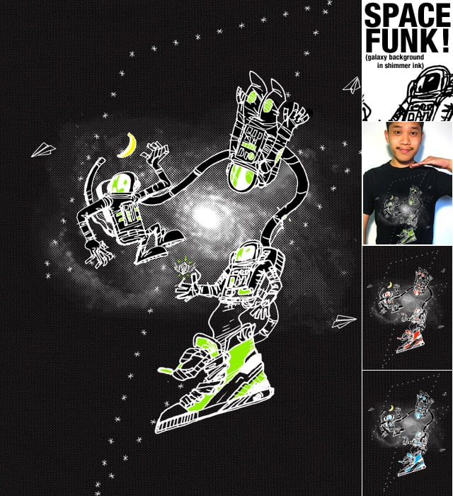 SPACE FUNK by TerryMakesStuff on Threadless