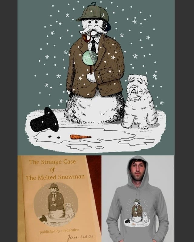 The Strange Case of The Melted Snowman by igo2cairo on Threadless