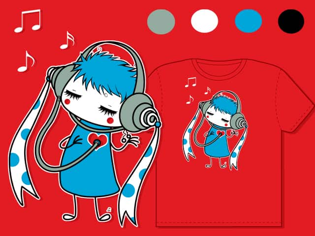 The Beat of My Heart by TheInfamousBaka on Threadless