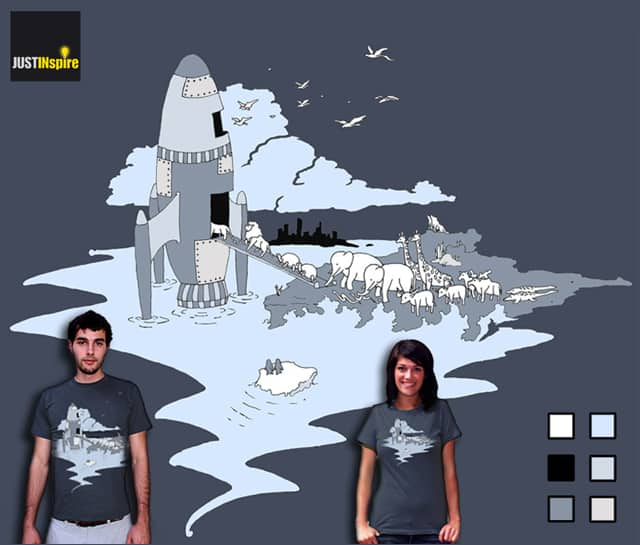 40 Days and Nights of Global Warming by Justinspire on Threadless