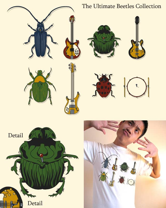 The Ultimate Beetles Collection by theurbanraptor on Threadless