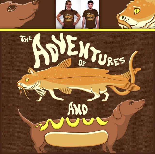 Catfishwienerdog by SteveOramA on Threadless