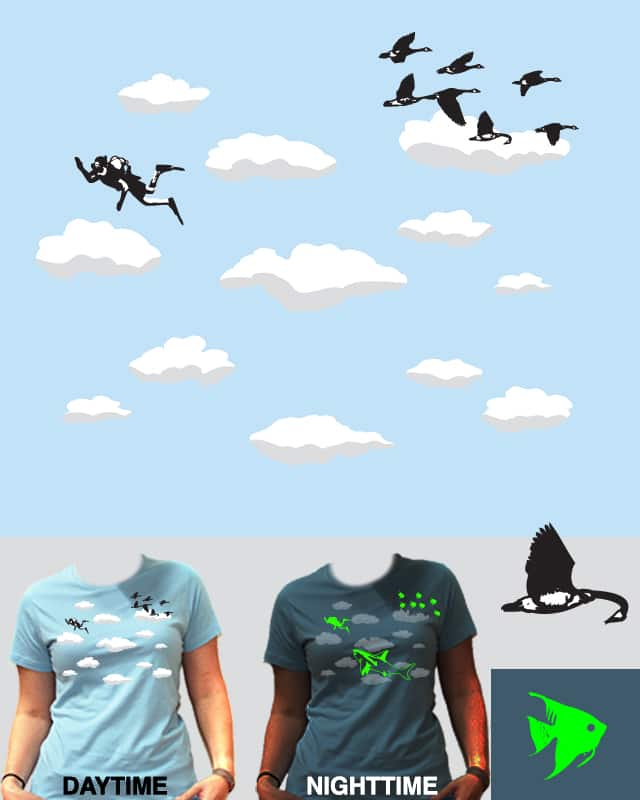 Skydiver by EricDiaz on Threadless
