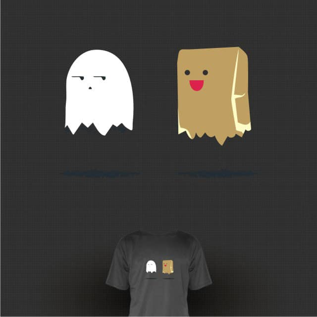 Different Ghost by tobiasfonseca on Threadless
