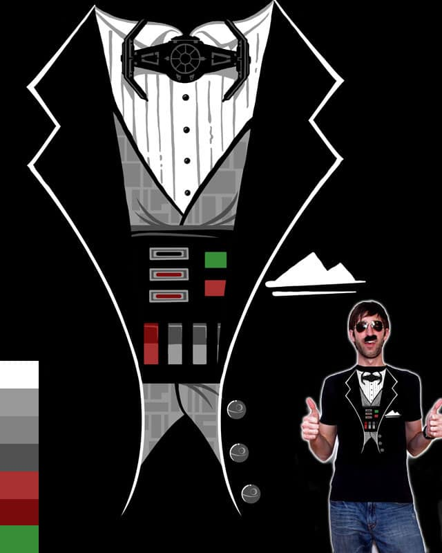 Black TIE Event by BeauBaPhat on Threadless