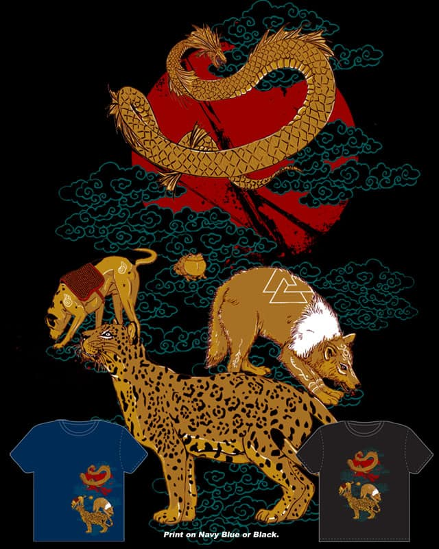 Hunt for the Red moon by xiaobaosg on Threadless