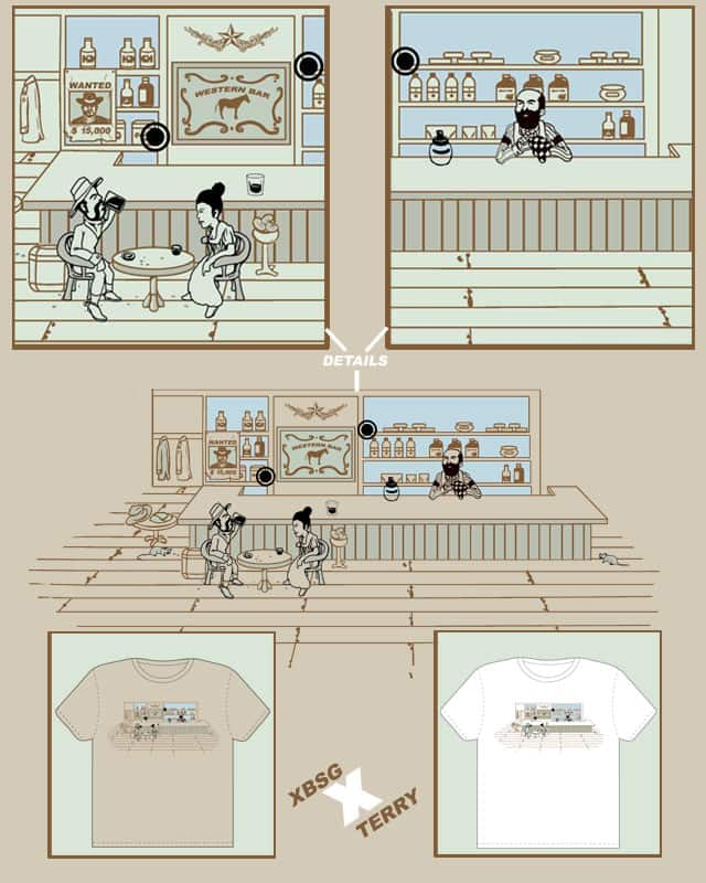 Western Bar by xiaobaosg on Threadless