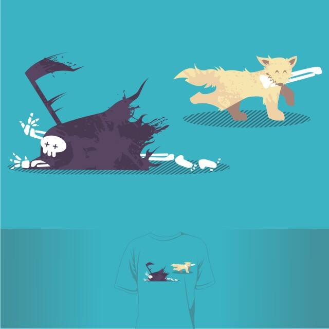 Cheating Death by tobiasfonseca on Threadless