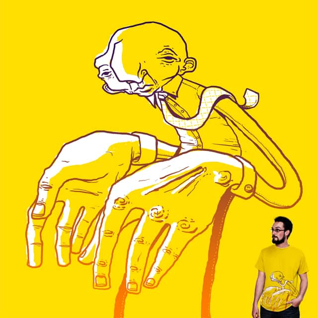 hands by Gringz on Threadless