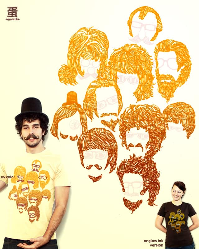 Hairy(Fun) by egg stroke on Threadless
