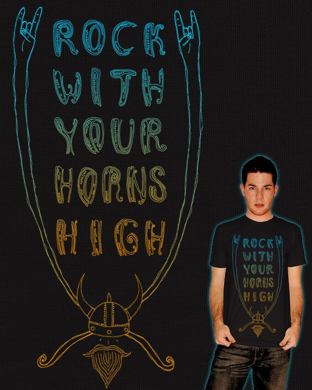 Rock With Your Horns High by againstbound on Threadless
