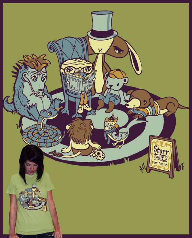 Storytime by t1nk3rb3ll3 on Threadless