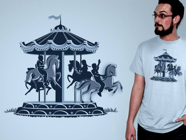Escaping the Carousel by entify on Threadless