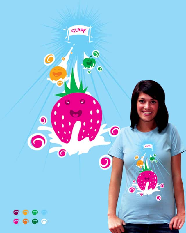 fruit race ! by flaminghOst on Threadless