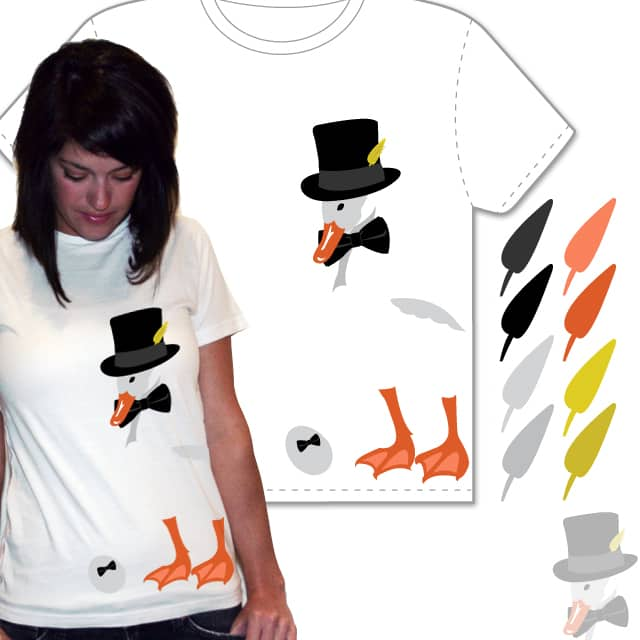 Mr. Quackers by brittanynicole on Threadless