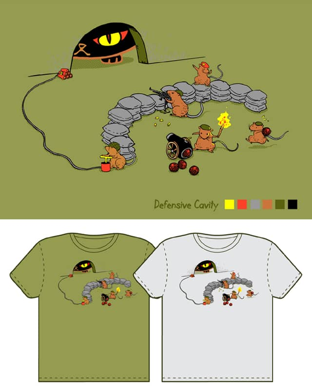 Defensive Cavity by monkeypim on Threadless