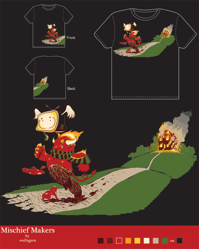 Mischief Makers by wullagaru on Threadless