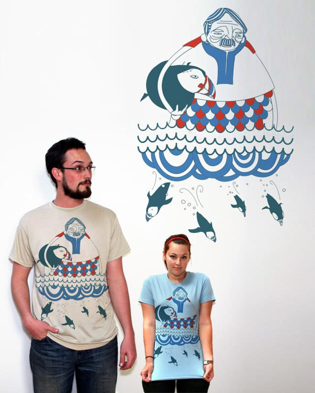 The Puffin Man by orangehead on Threadless