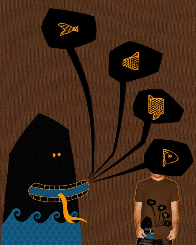 I Know How to Spell  F I S H by againstbound on Threadless