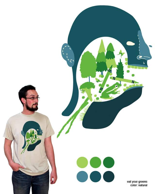 eat your greens by orangehead on Threadless