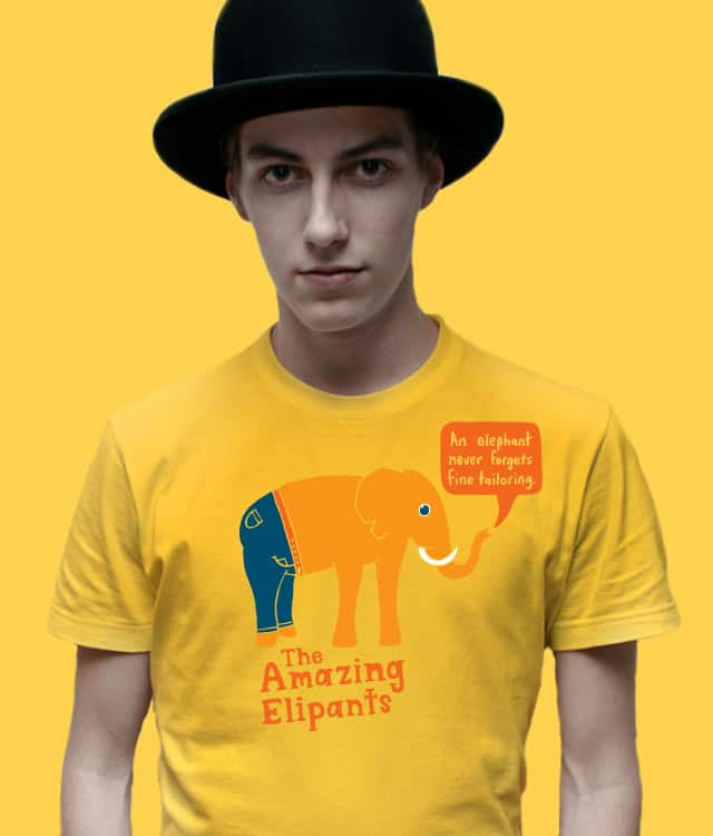 The Amazing Elipants by bananaphone on Threadless